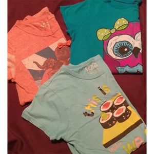 💘Kids/Girls XL Graphic T-Shirt Bundle of 3💘